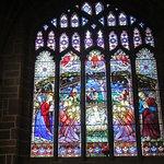 Vitral de la catedral.