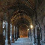 Pasillos del claustro de la catedral.