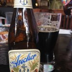 My Anchor Steam porter and view from my table
