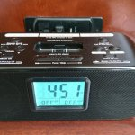 Alarm clock docking station.