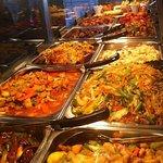 Asian Food selection