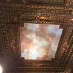 Look Up! - the magnificent ceiling in The Rose Reading Room