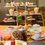 Afternoon Tea for two.  Offered daily 2PM-5PM.