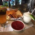 Great salsa (could be chunkier though) and margaritas