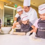 Excite your child's dining experience & watch them smile as they make their personal pizza creat