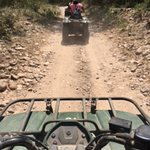 Driving the ATV's