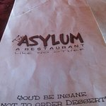 Foto di The Asylum Restaurant