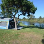 Campsite on the Touw River