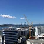 View from 1316 balcony over towards Devonport
