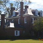 The back of the grand house