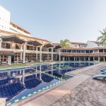The poolside at Palms, Mount Lavinia