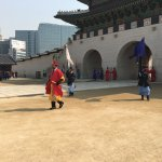 Guards changing ceremony
