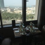 Afternoon Tea in the 18th floor Club Lounge and view