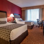 Rest easily in seven layers of comfort bedding at the Crowne Plaza