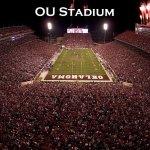 OKlahoma Sooner Stadium