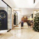 Halkin Christmas Lobby