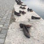 Photo of Shoes on the Danube Promenade Memorial