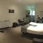 Our room was large and plush