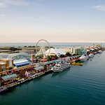 Navy Pier located minutes from Crowne Plaza Chicago Metro Hotel
