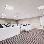 Creative planning, enhanced by comfortable decor in meeting space