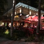 Tropics Bar & Grill after dark