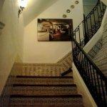 Escalera acceso al comedor