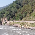 the Beas river flowing in all its glory...