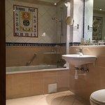 Bathroom in deluxe room facing southwest
