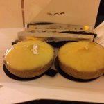 lemon tarts (there were also chocolate eclairs, but we devoured them already