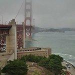 Golden Gate bridge... photo taken from near welcome center