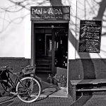 Find Pan de Aida on Calle Alcála Galiano,  between the central market & Torre Tavira