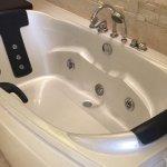 Luxurious spa bath.
