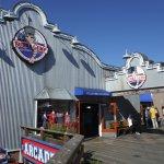 Bubba Gump Shrimp Co. Restaurant on the upper level of Pier 39.
