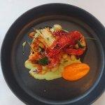 Cuttlefish and prawn