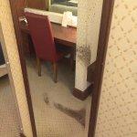Scuffed mirror
