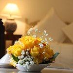 Des fleurs ...