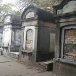 Above ground grave sites