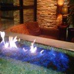 Fireplace at Seasons52 Cherry Hill