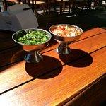 Chimichurri y salsa criolla
