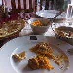 What's left of my excellent Chicken Korma