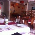 Restaurant interior-back