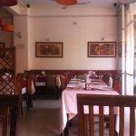 Restaurant interior-front