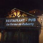 Foto de Restaurant-Pub La Ferme de Reberty