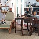 Ernest Hemingways studio.
