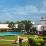 Trident, Agra - Inner courtyard