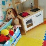 La nostra Area Baby dedicata ai piccoli fino a 3 anni...
