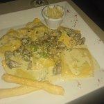 My ravioli, WOW!!! Soooo good!