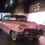 Elvis' cars exhibit