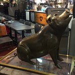 The famous Reading Terminal Market pig, Philbert.