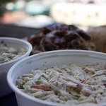 Coleslaw & Potato Salad. All our food is made from scratch
